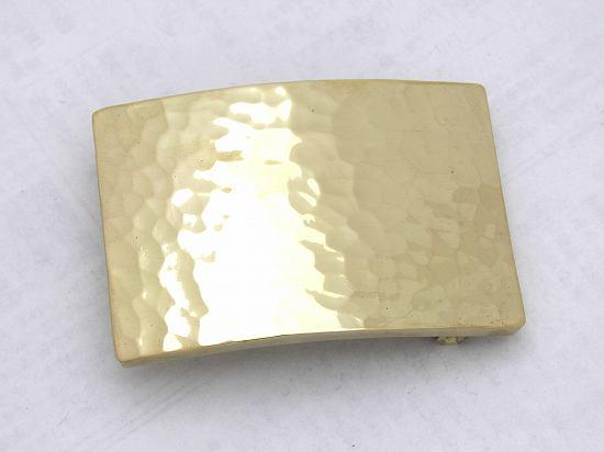 真鍮無垢バックル(タタキ大) |         オリジナルアクセサリー・パーツ製造販売 | メタルメディア